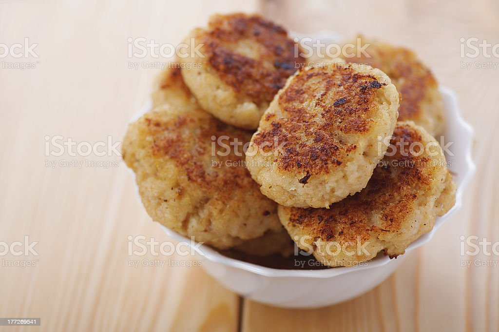 meat patties(pork, beef, lamb) royalty-free stock photo