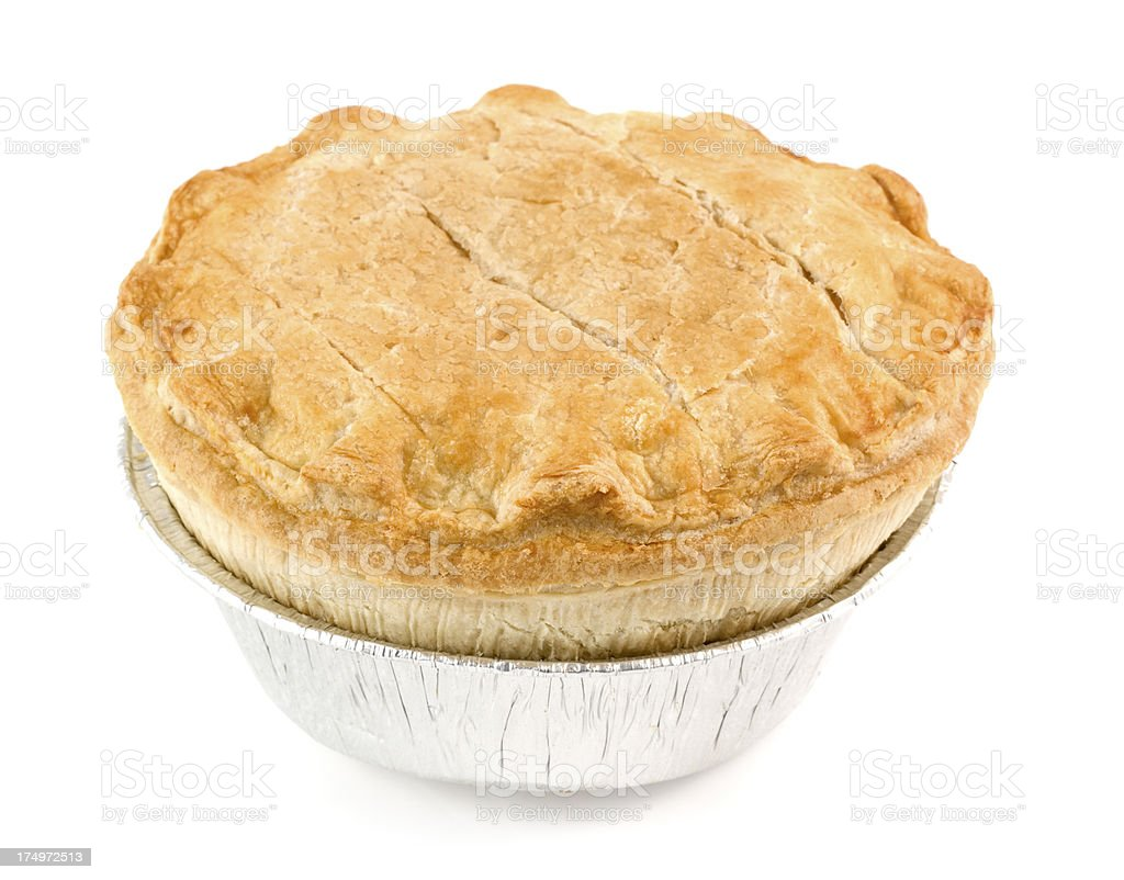 Meat Pie stock photo
