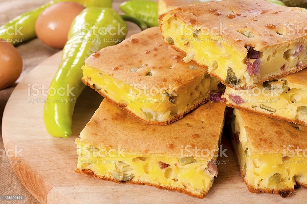 Meat pie royalty-free stock photo