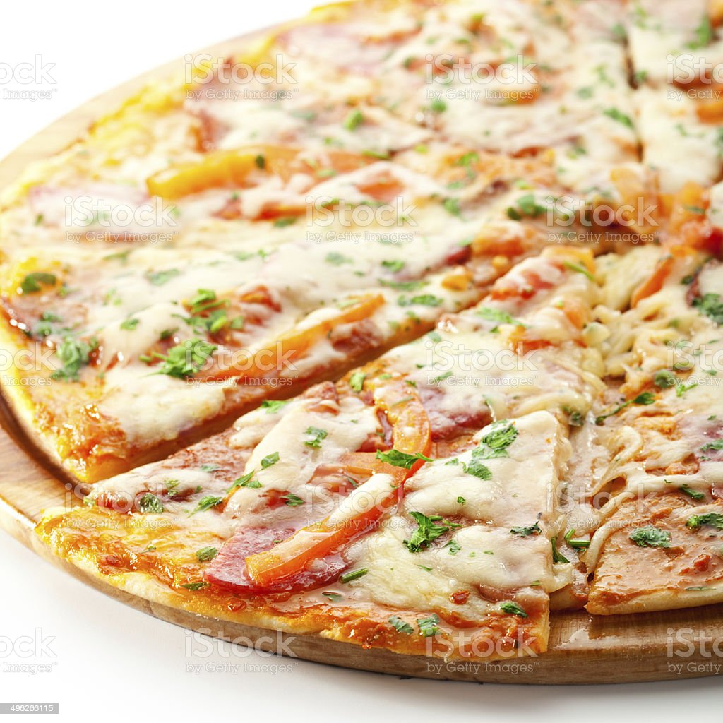 Meat Pizza stock photo