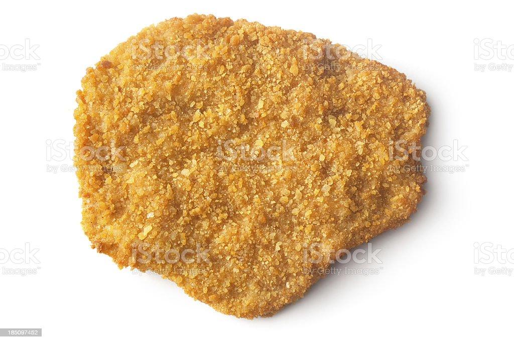 Meat: Schnitzel stock photo