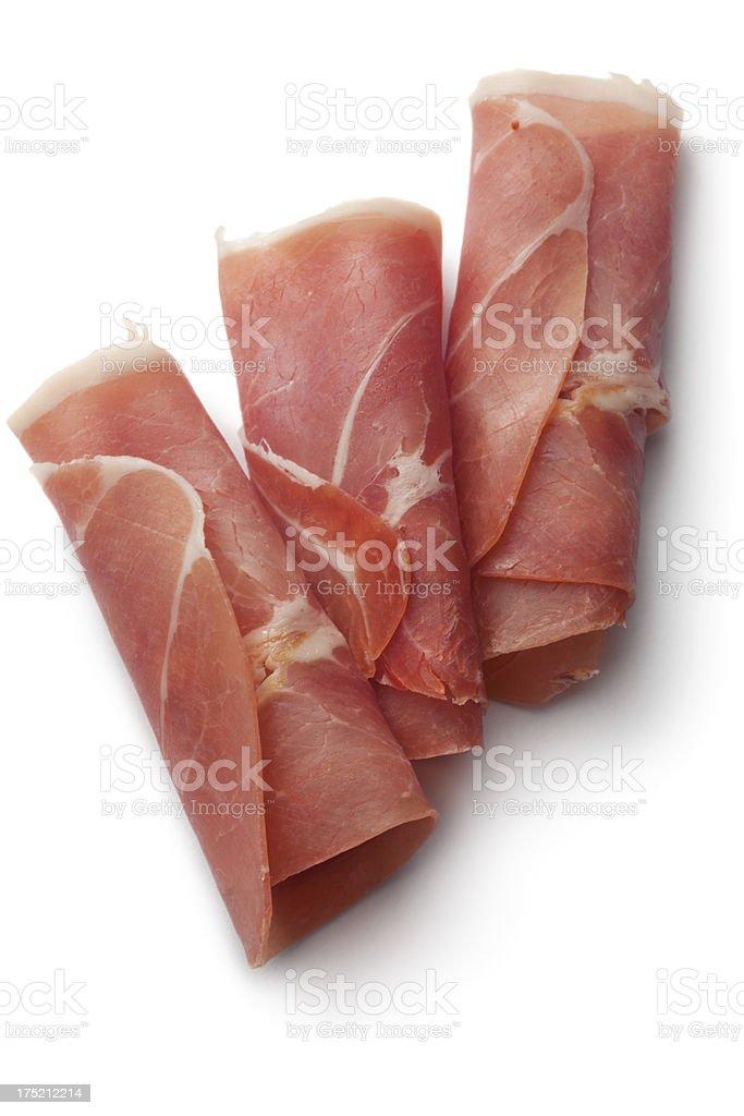 Meat: Serrano stock photo