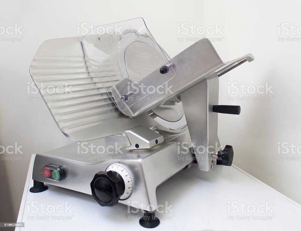 meat slicer kitchen appliances stock photo