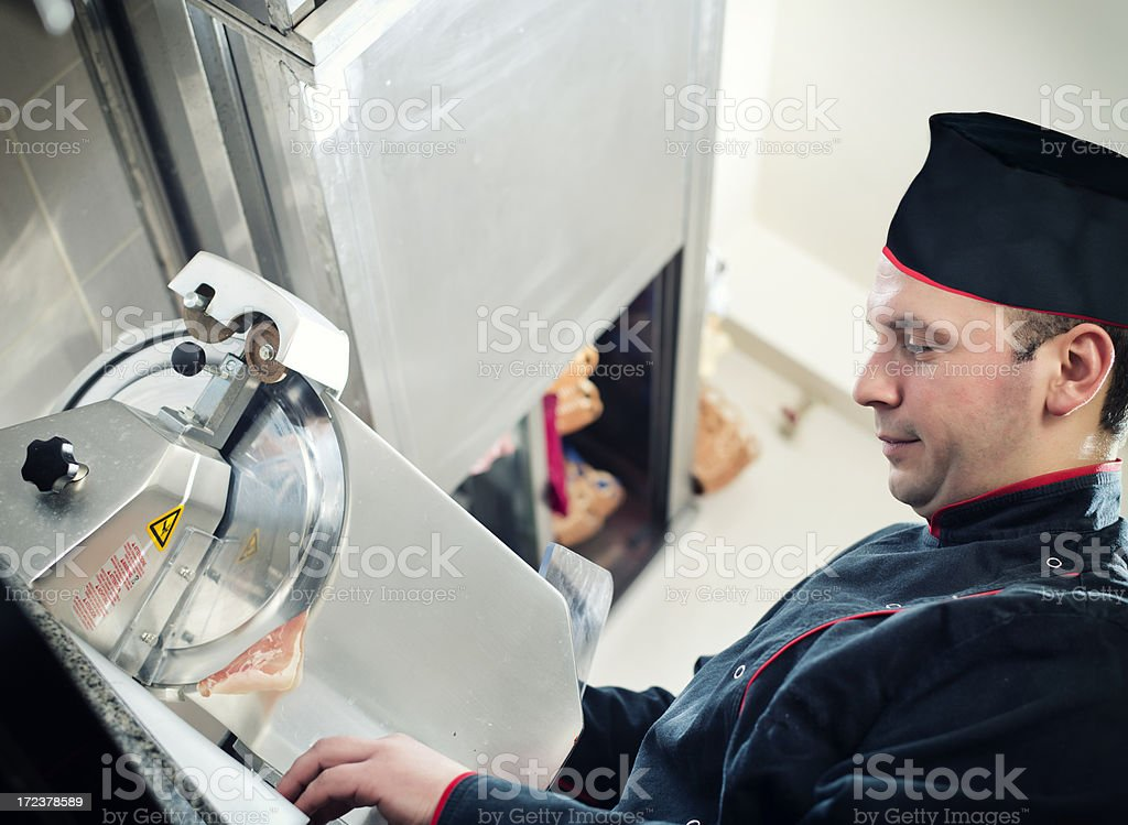 Meat Slicer royalty-free stock photo