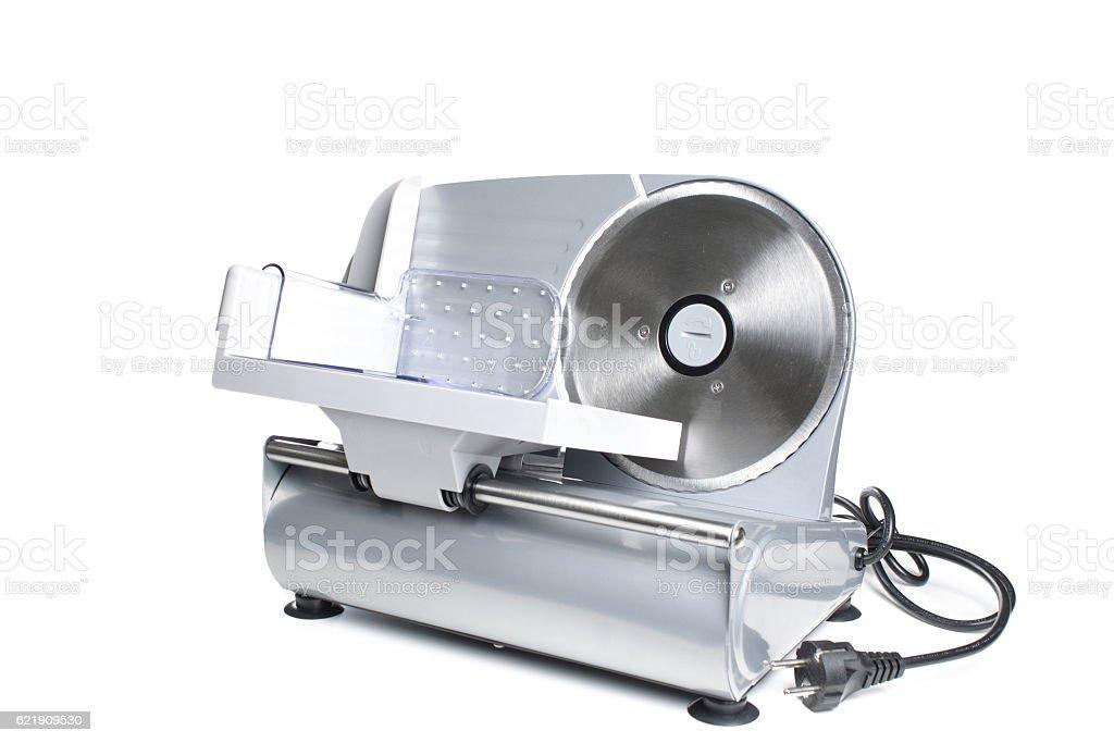 Meat Slicing Machine professional equipment stock photo