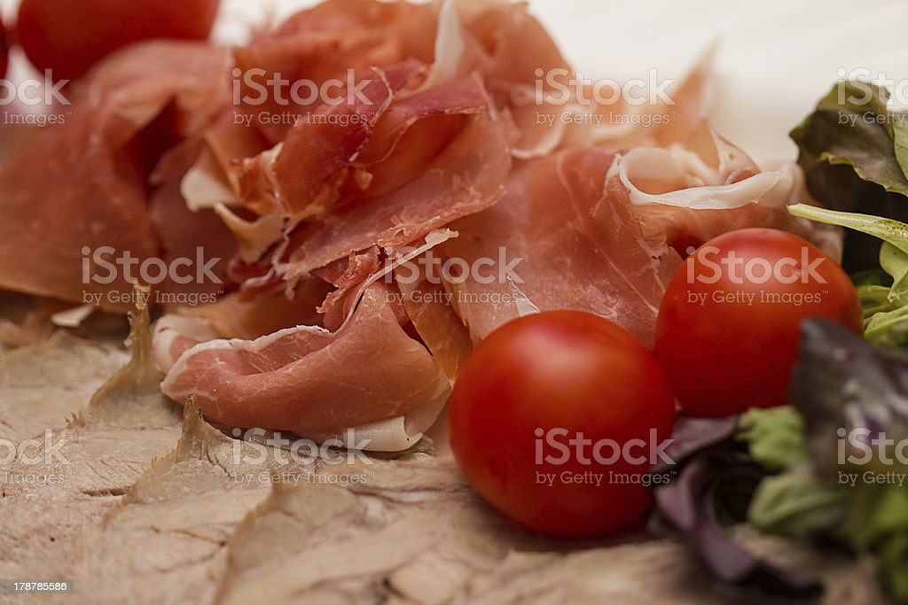 Meat snack royalty-free stock photo
