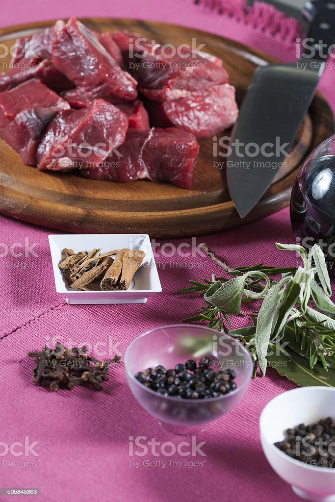 Spezzatino di carne royalty-free stock photo