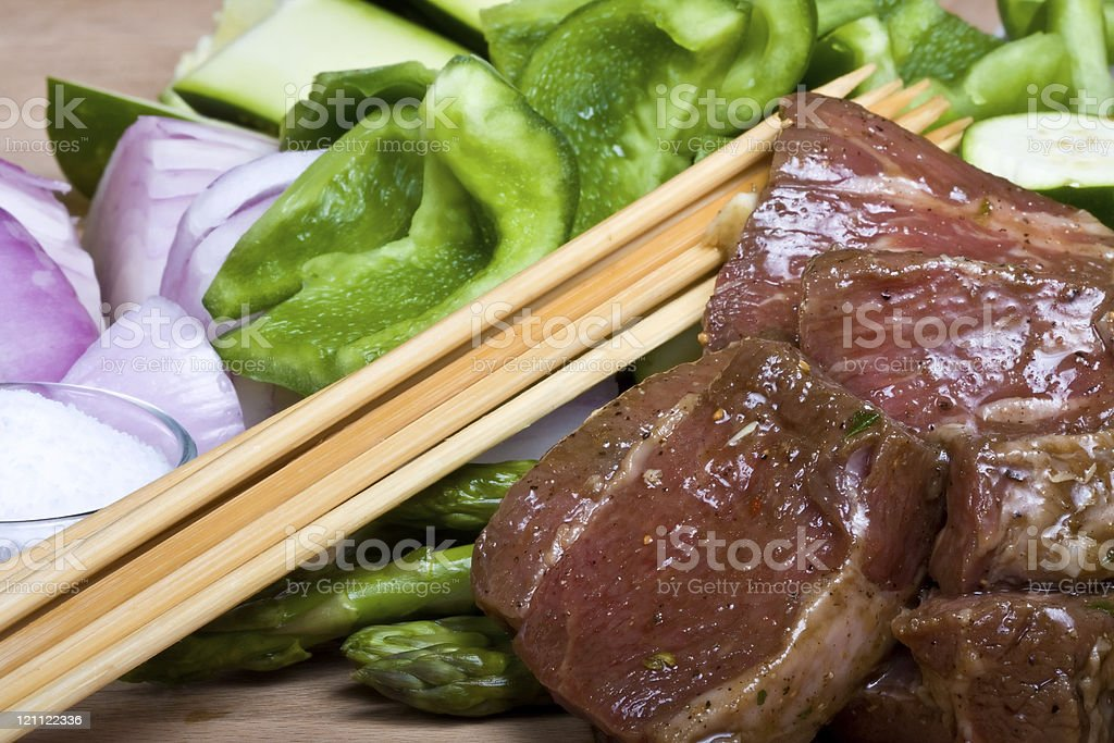 meat stick royalty-free stock photo