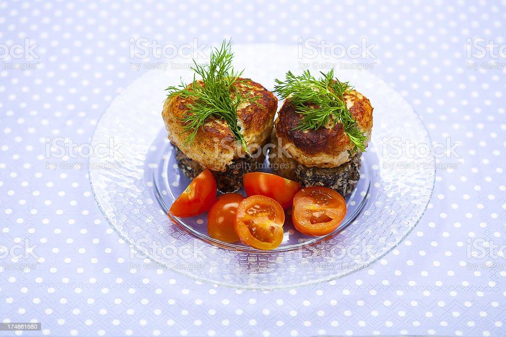 meatball sandwich royalty-free stock photo