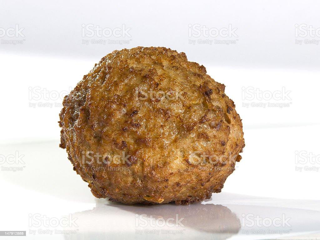 meatball too royalty-free stock photo