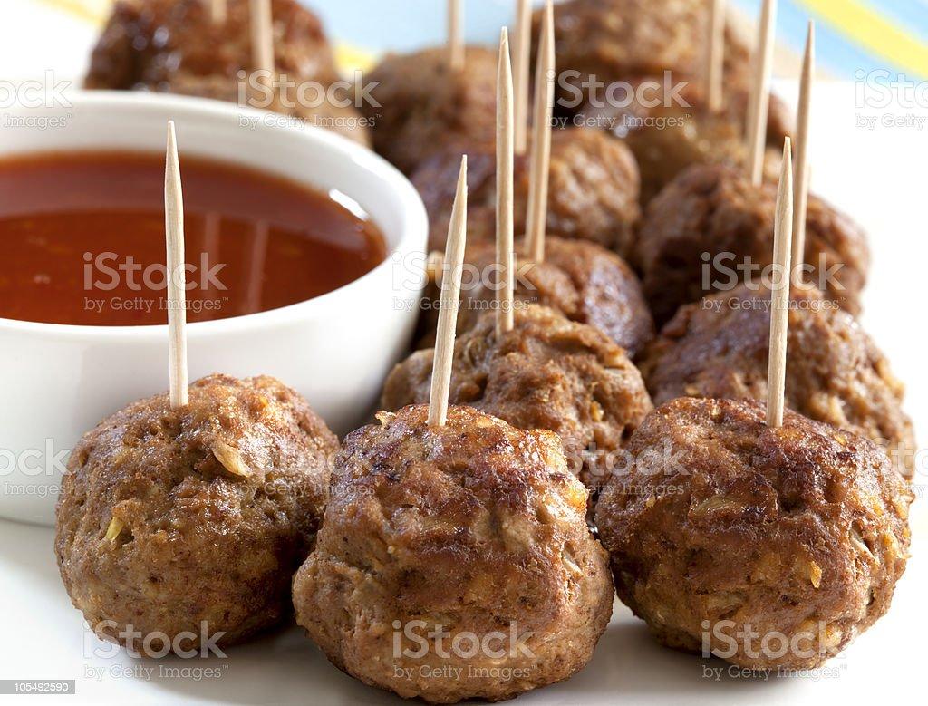 Meatballs royalty-free stock photo