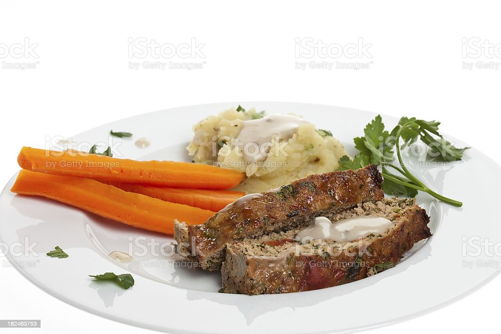 Meatloaf For Dinner stock photo