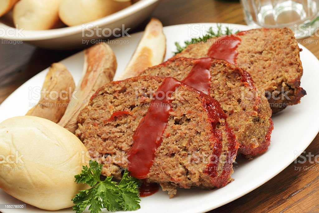 Meatloaf royalty-free stock photo