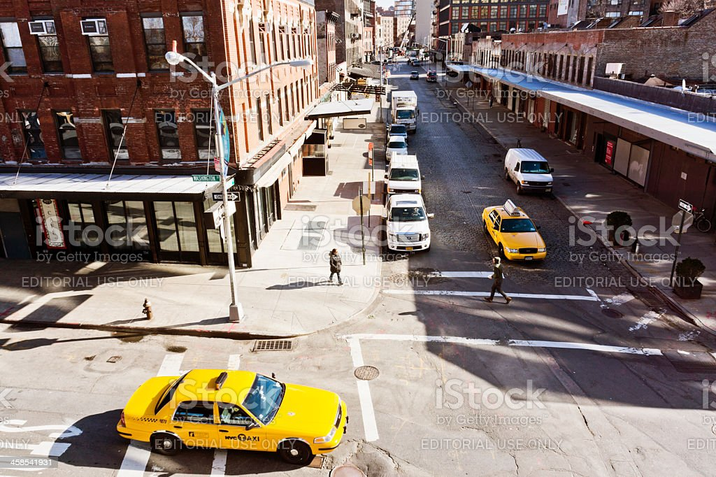 Meatpacking district New York stock photo