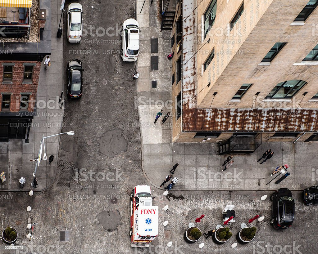 NYC Meatpacking Views stock photo