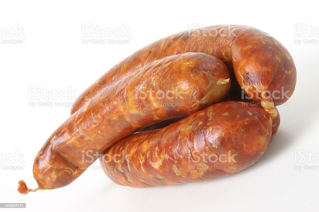 Meat-sausage royalty-free stock photo
