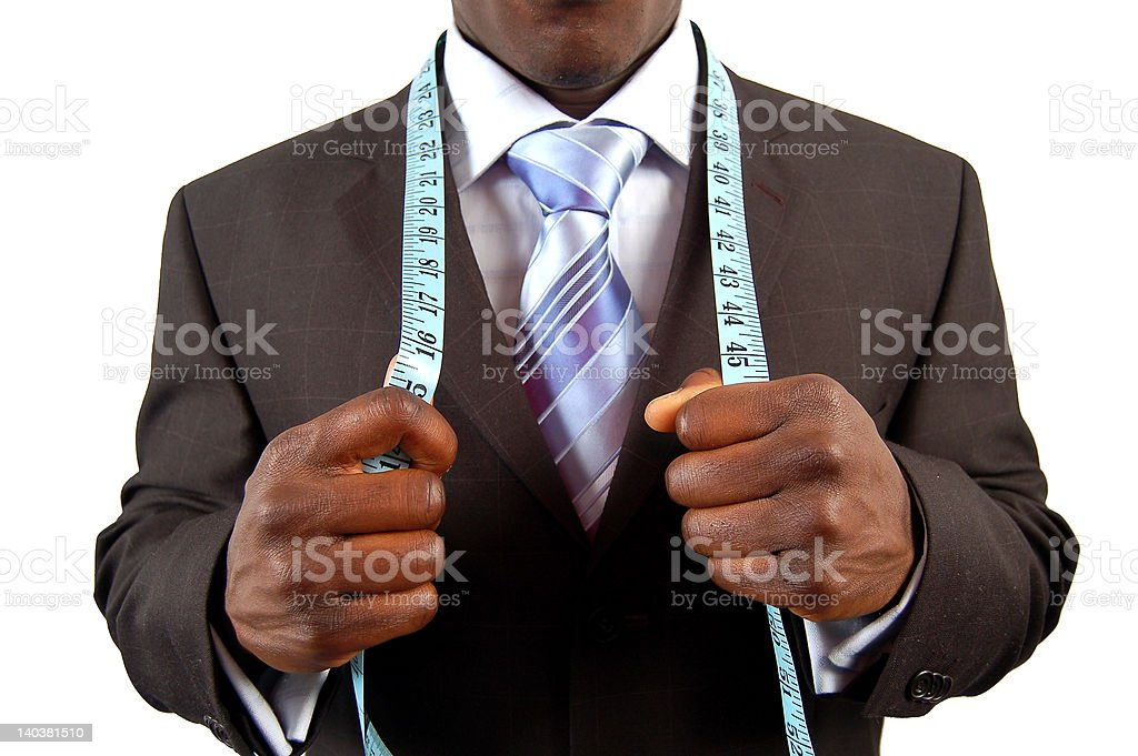 Meaured Business royalty-free stock photo