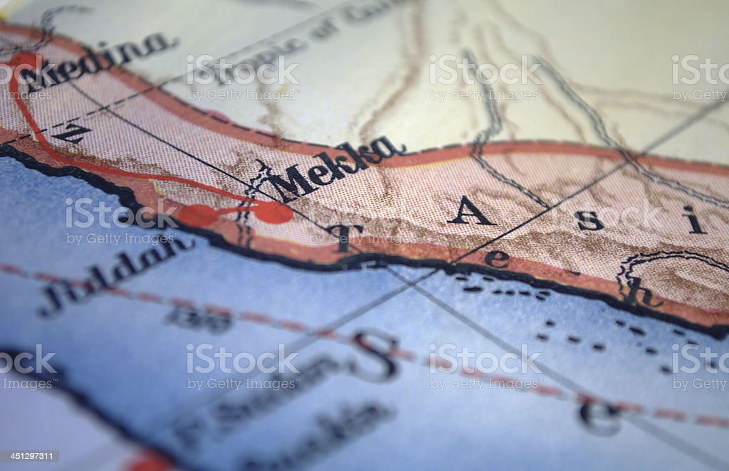 Mekka stock photo