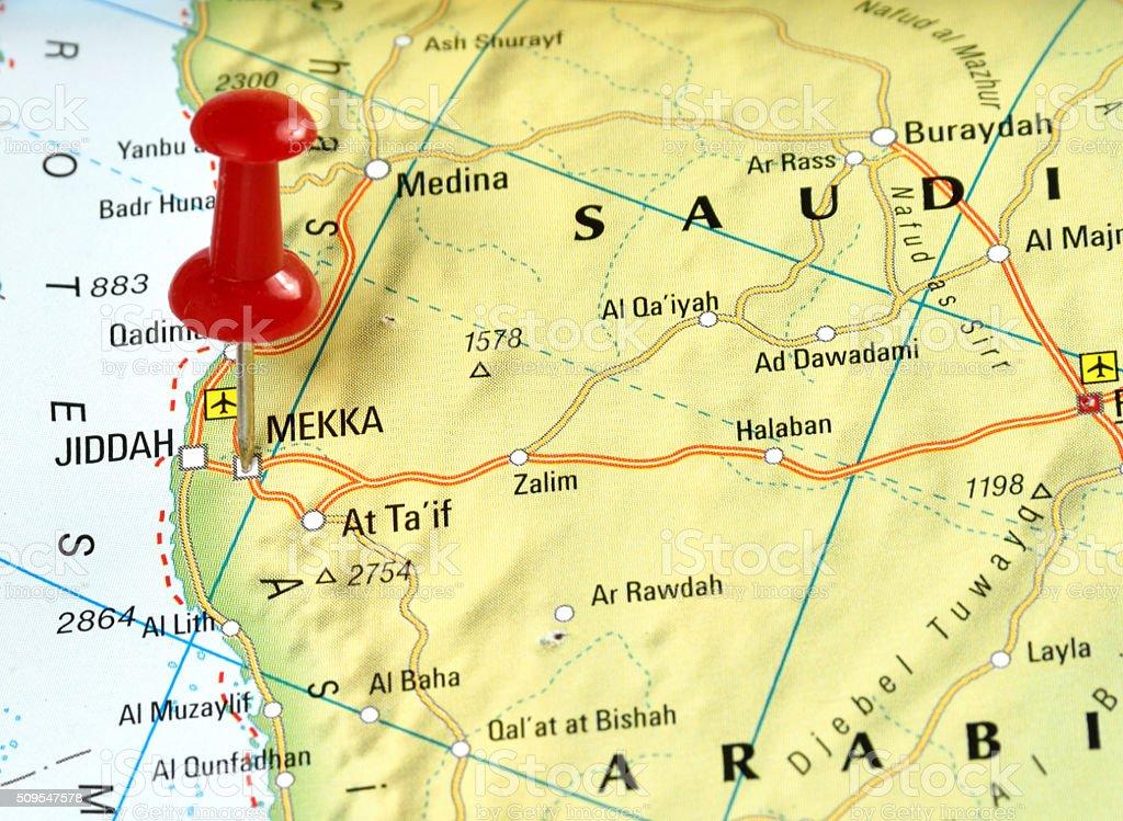 Mekka stock photo