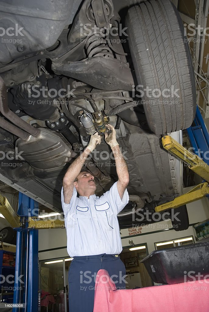 mechanic 7 stock photo