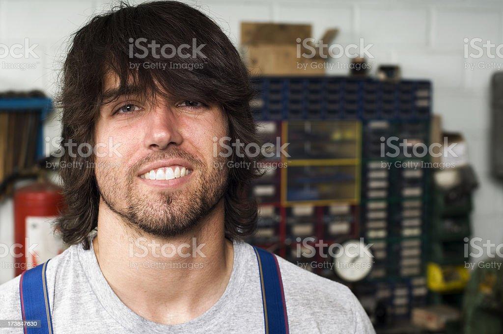 Mechanic royalty-free stock photo