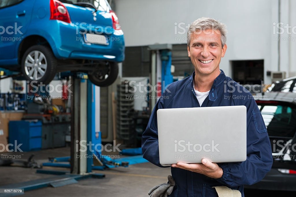 Mechanic Technology stock photo