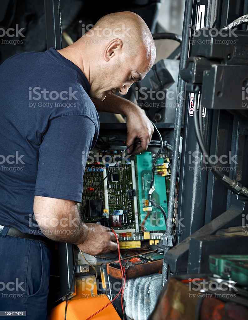 Mechanic Working stock photo