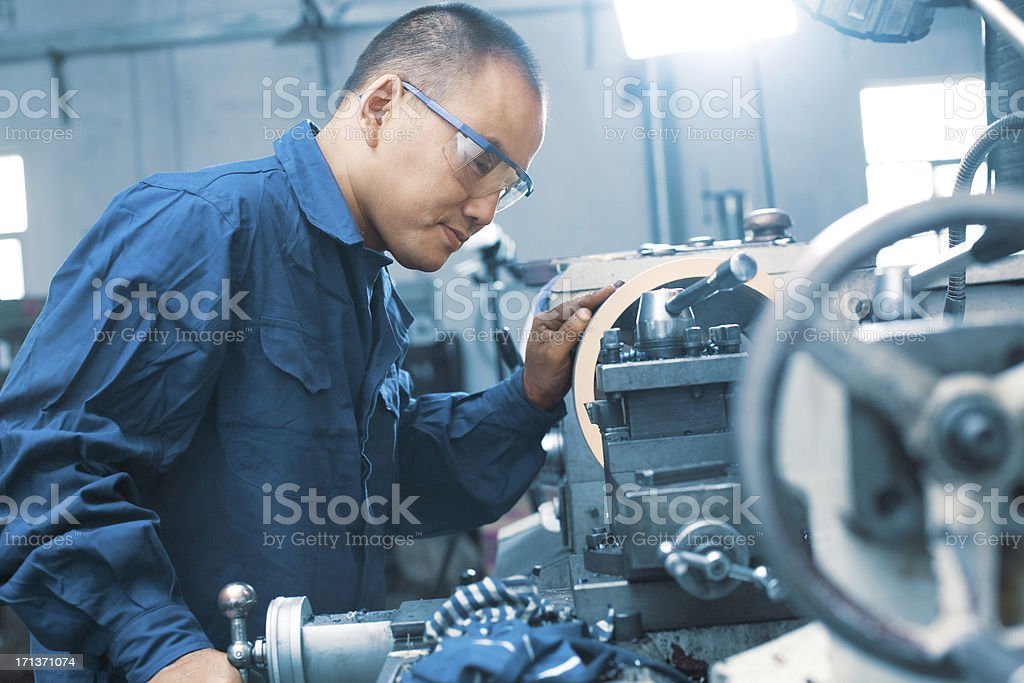 Mechanic Working royalty-free stock photo