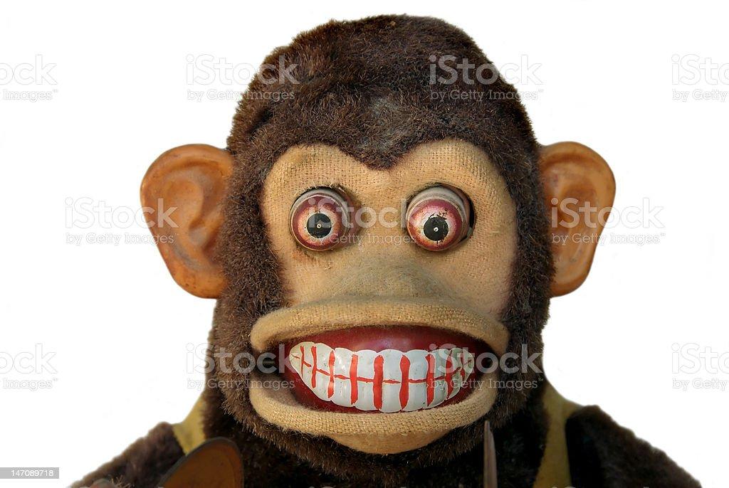 Mechanical Chimp royalty-free stock photo