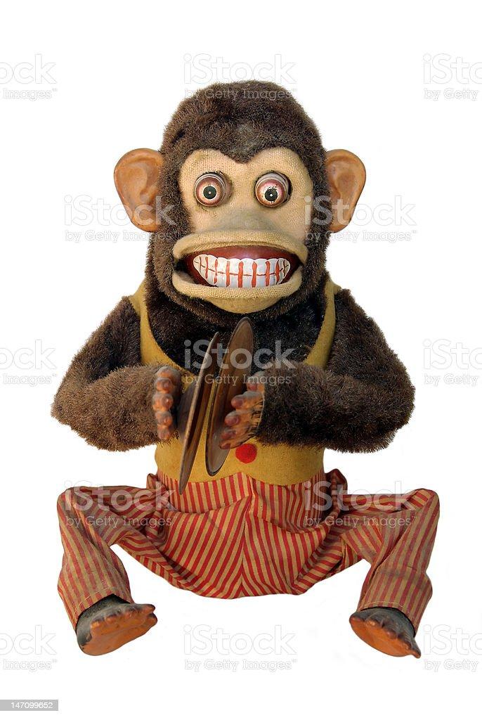 Mechanical Chimp stock photo