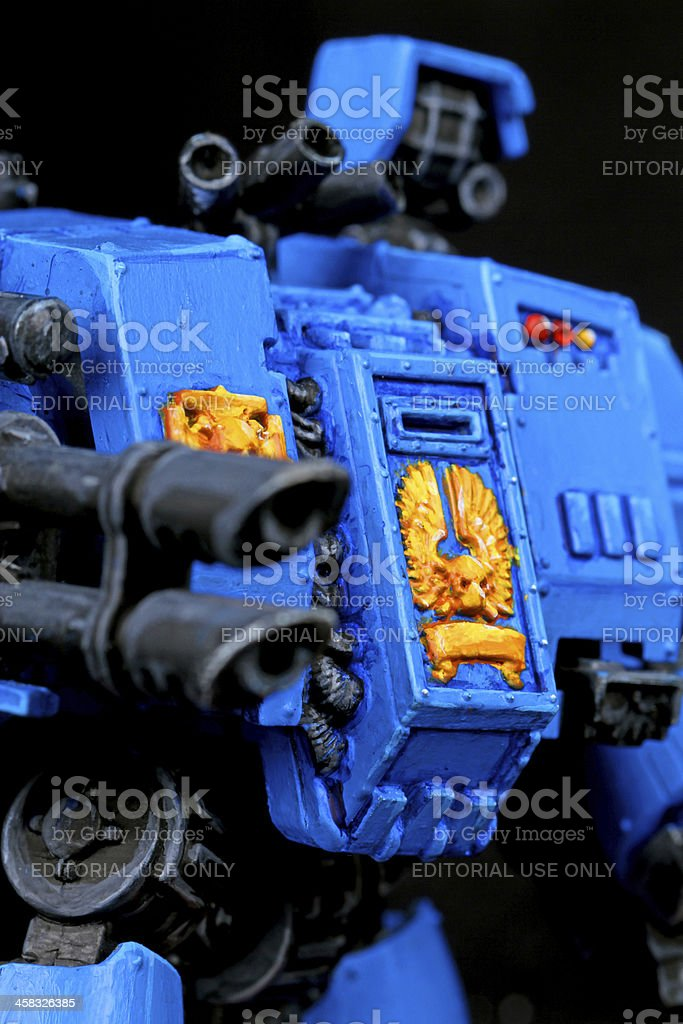 Mechanical Destruction stock photo
