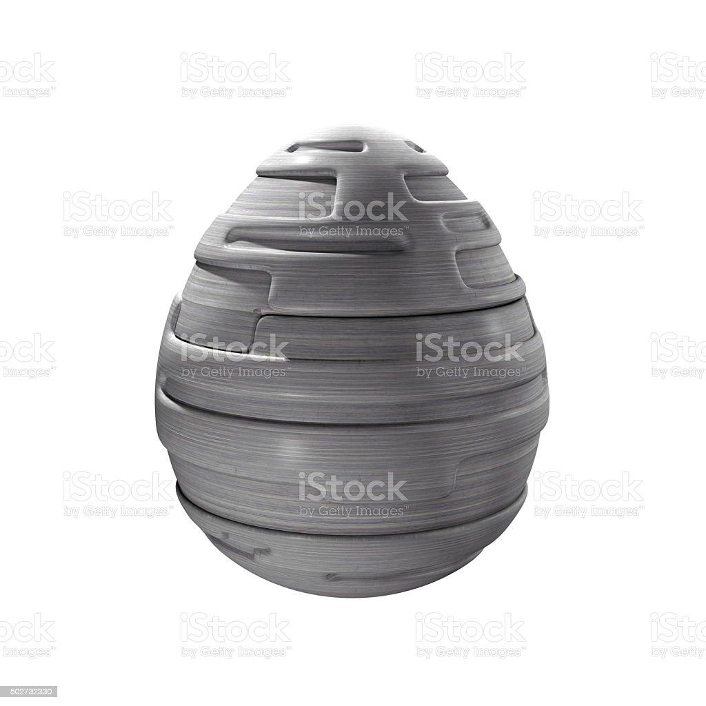 Mechanical egg stock photo