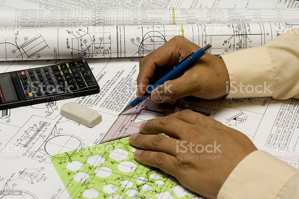Mechanical Engineering royalty-free stock photo