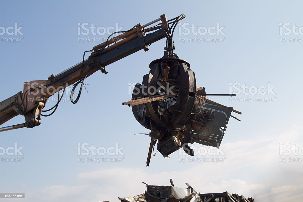 Mechanical Grabber royalty-free stock photo