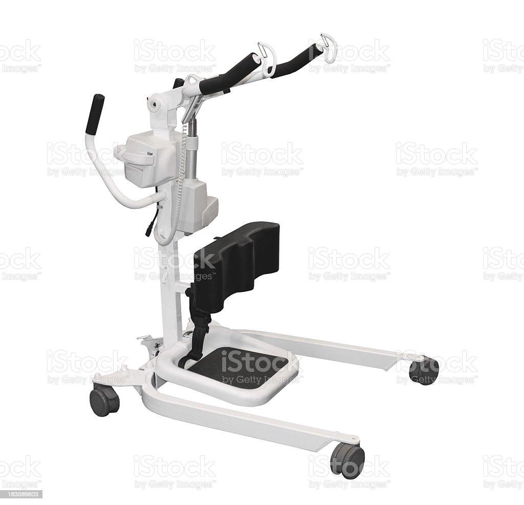 Mechanical Hoist. royalty-free stock photo