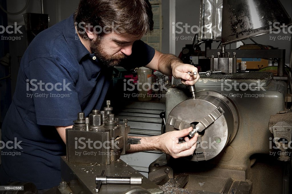 Mechanical industry worker royalty-free stock photo