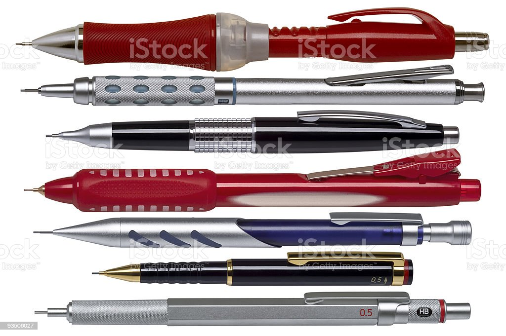 mechanical pencil royalty-free stock photo