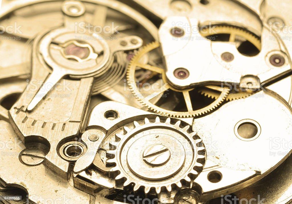 Mechanical royalty-free stock photo