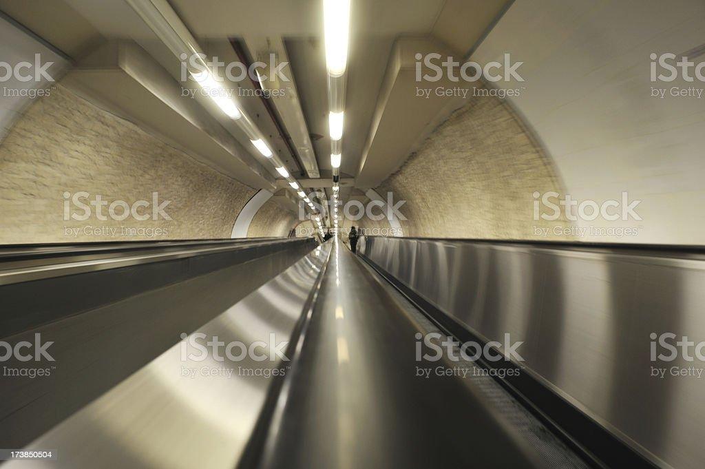 Mechanical walkway royalty-free stock photo