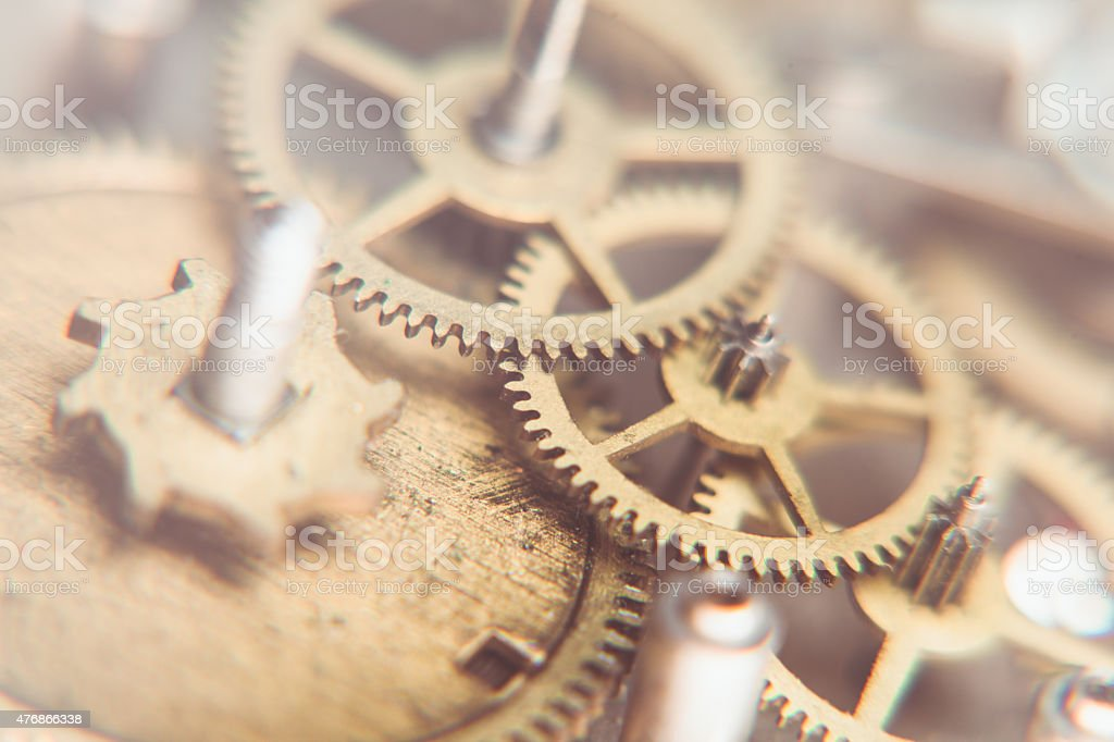 Mechanical watches stock photo
