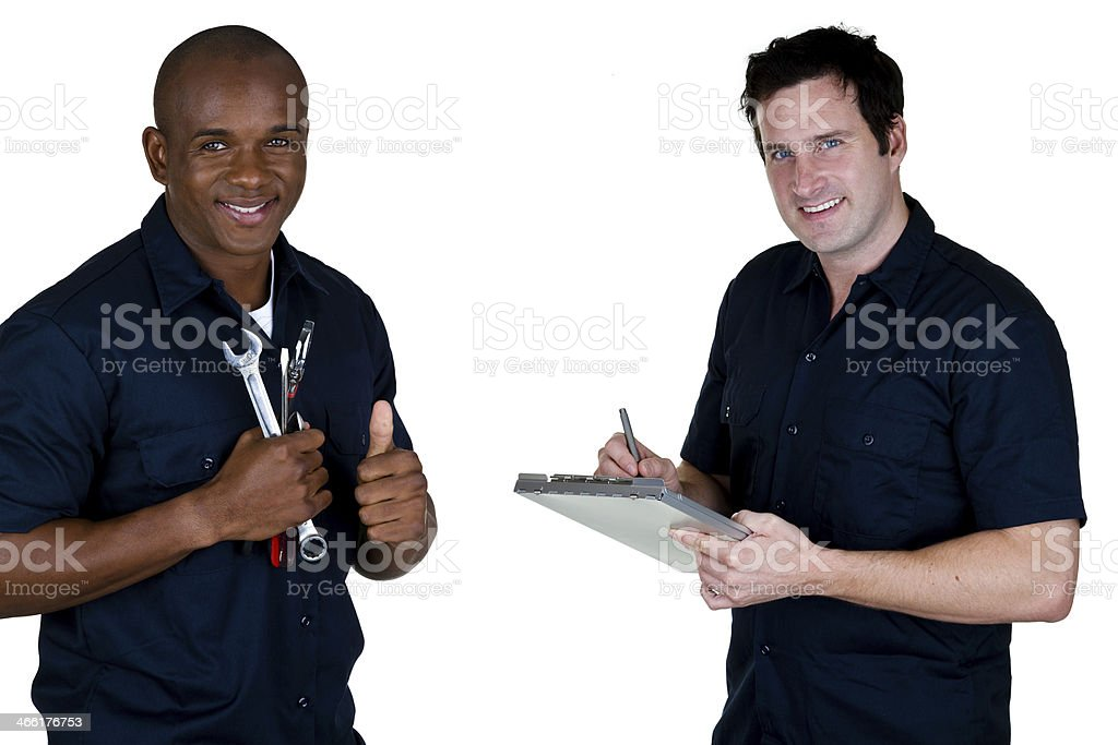 Mechanics royalty-free stock photo