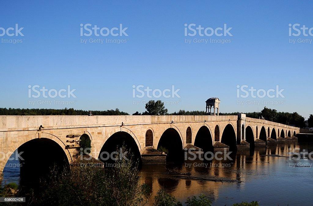 Mecidiye Bridge stock photo