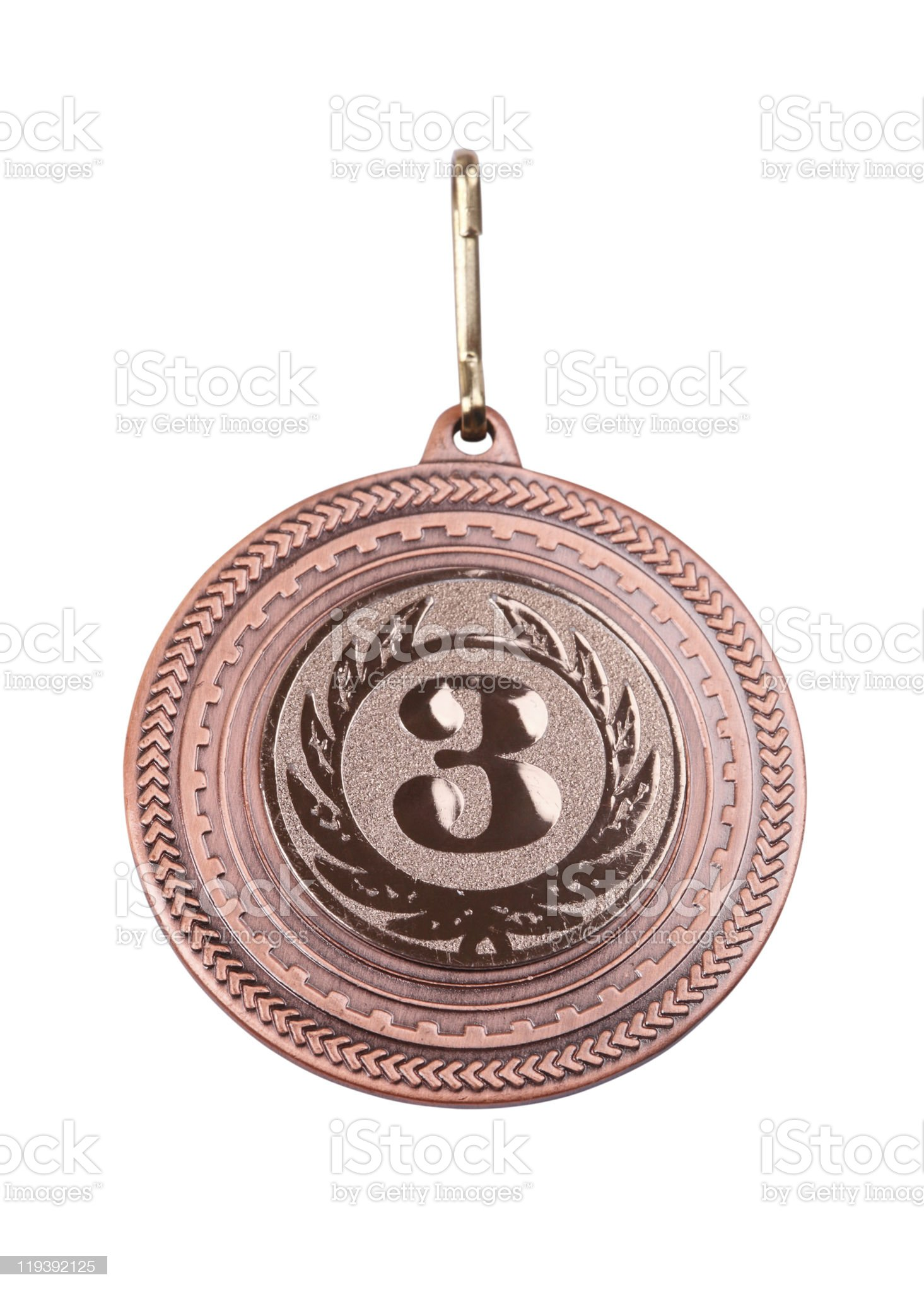 Medal Bronze royalty-free stock photo