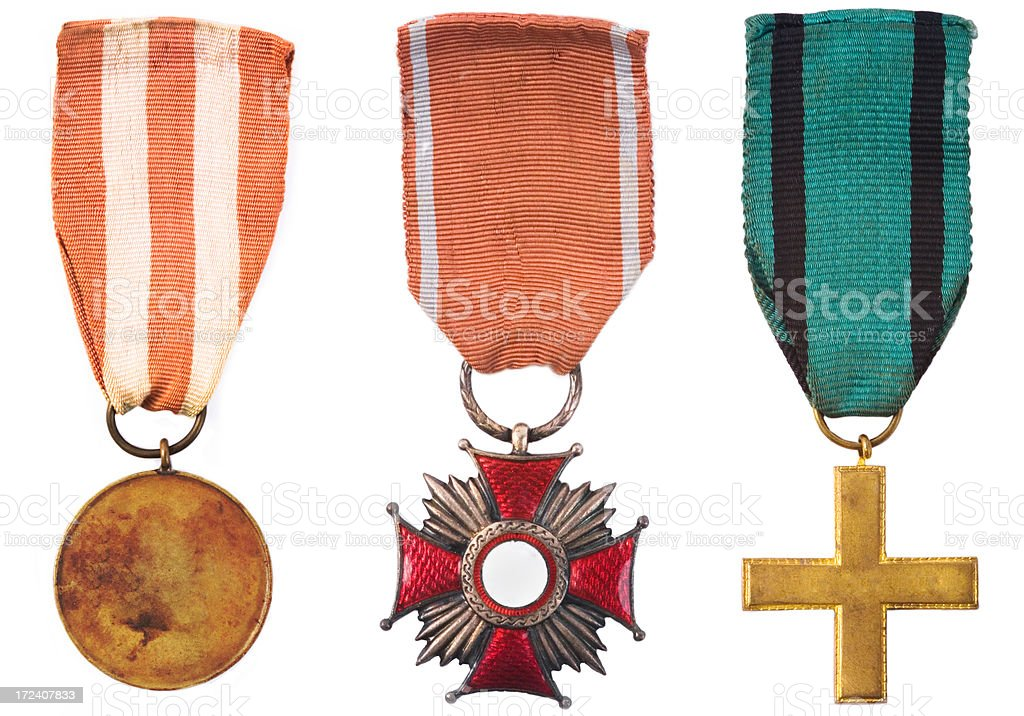 Medal for Valour royalty-free stock photo