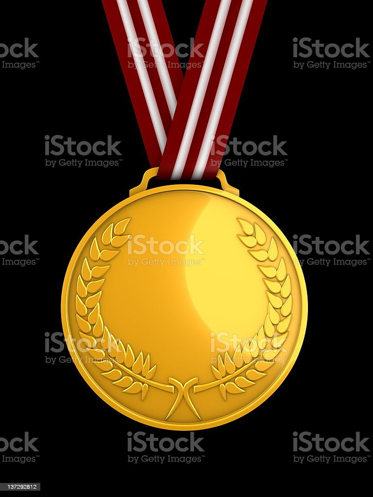 medal Gold royalty-free stock photo