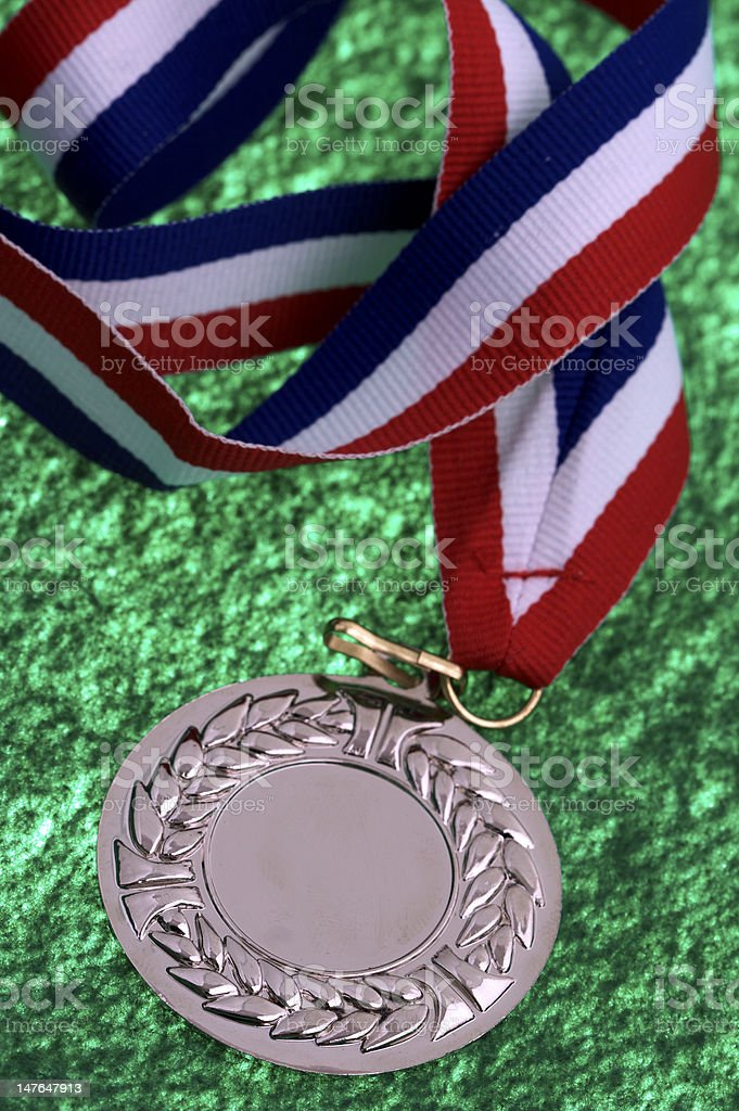 Olympic Medal stock photo