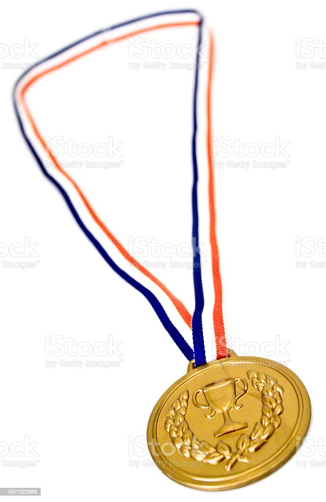 Medaille stock photo