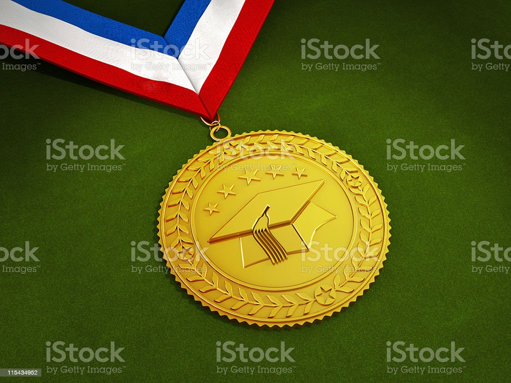 Medallion royalty-free stock photo