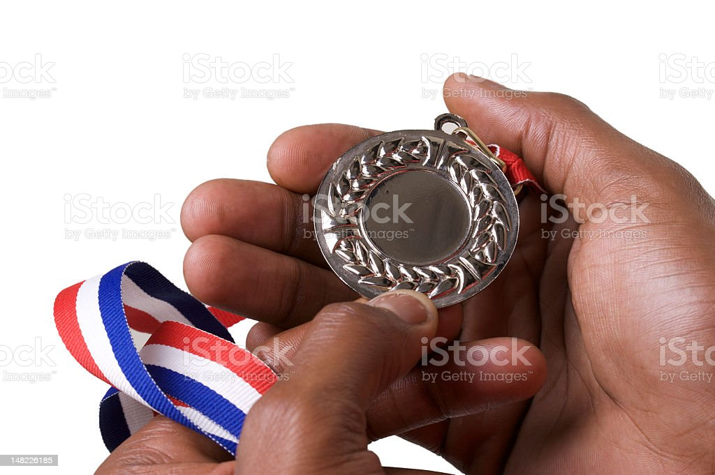 Olympic Medals stock photo