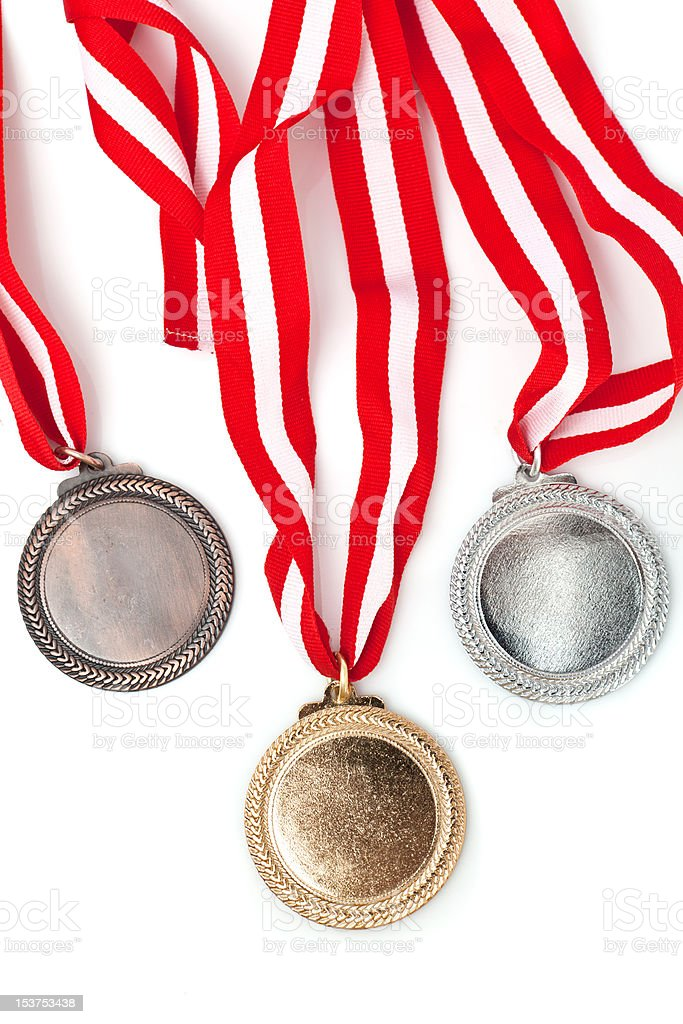 medals royalty-free stock photo